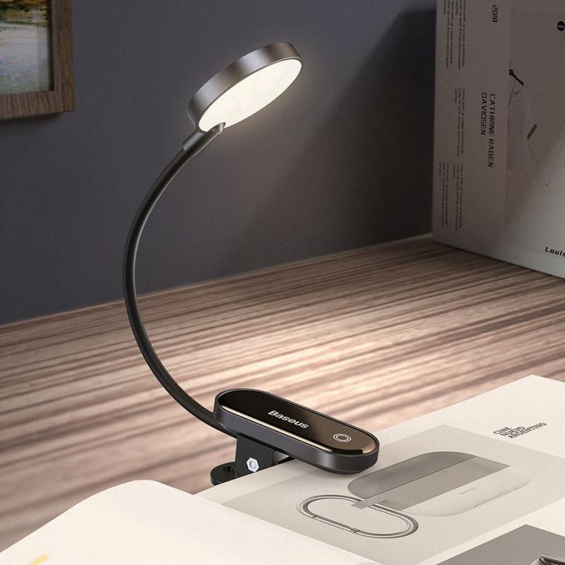 LED Лампа Baseus Comfort Reading Mini Clip - Купить в Украине за 409 грн - изображение №4