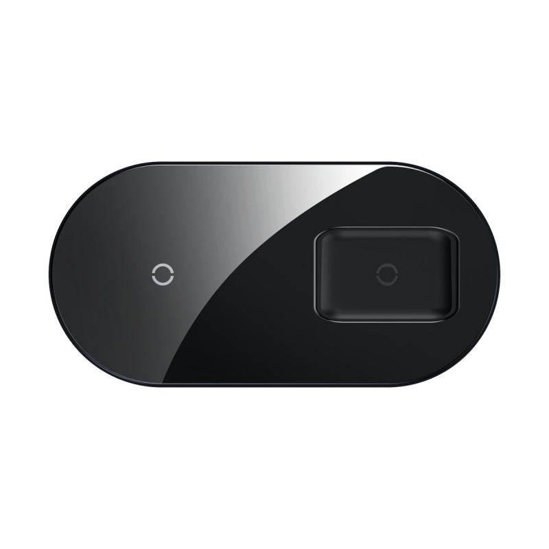 Беспроводное ЗУ Baseus Simple 2in1 18W Pro Edition - Купить в Украине за 899 грн - изображение №12