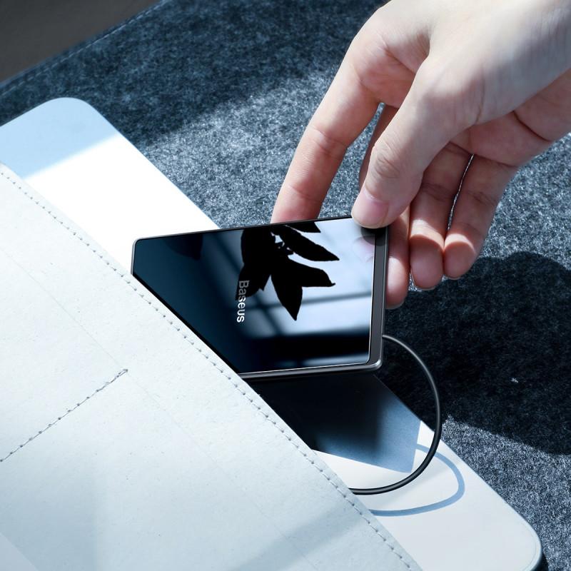 Беспроводное ЗУ Baseus Card Ultra-Thin 15W (with USB cable 1m) - Купить в Украине за 639 грн - изображение №3