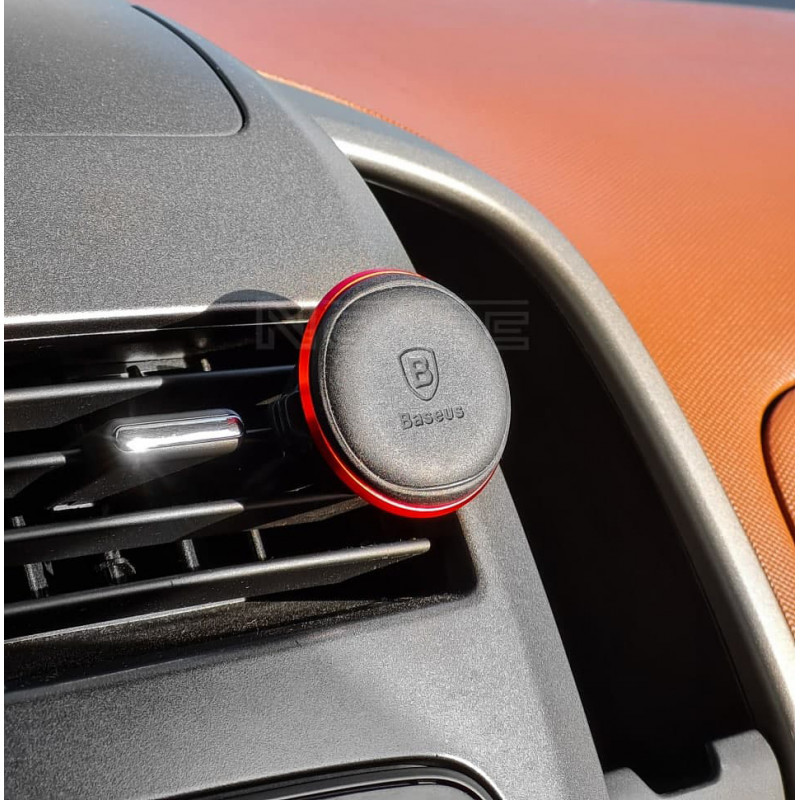 Автодержатель Baseus Magnetic Air Vent Car Mount With Cable Clip - Купить в Украине за 289 грн - изображение №3