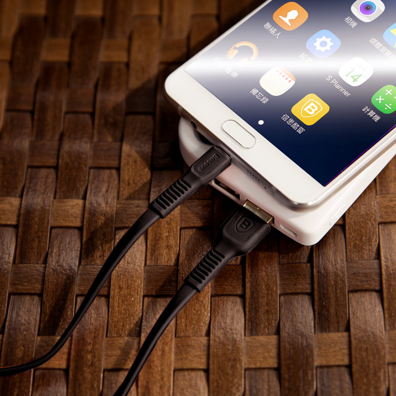 Кабель Baseus Tough Series Micro USB 2.0A (1m) - Купить в Украине за 139 грн - изображение №3
