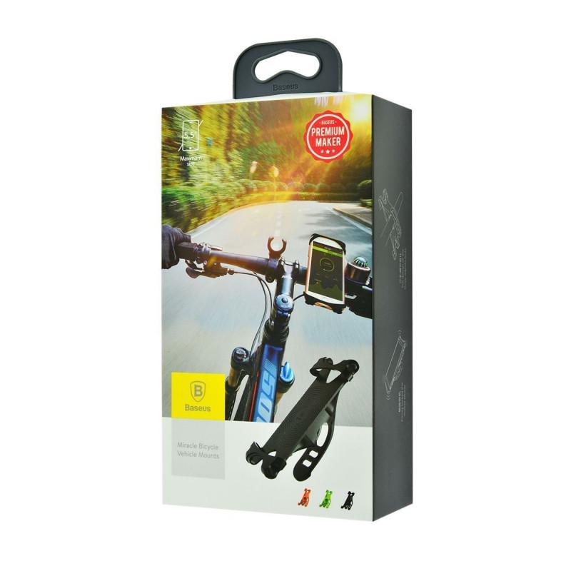 Автодержатель Baseus Miracle Bicycle Vehicle Mounts - Купить в Украине за 269 грн - изображение №2