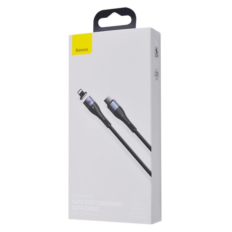 Кабель Baseus Zinc Magnetic Safe Fast Charging Type-C to Lightning PD 20W (1m) - Купить в Украине за 309 грн - изображение №2