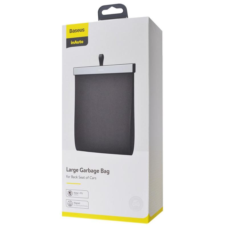 Чехол-карман Baseus Large Garbage Bag for Back Seat - Купить в Украине за 519 грн - изображение №2