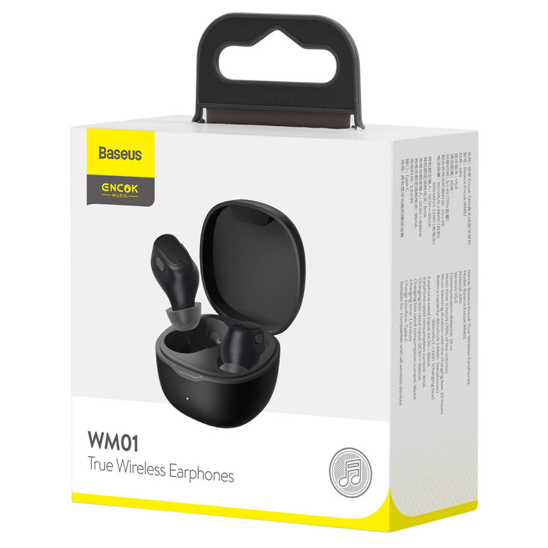 Наушники Baseus WM01 TWS - Купить в Украине за 689 грн - изображение №2