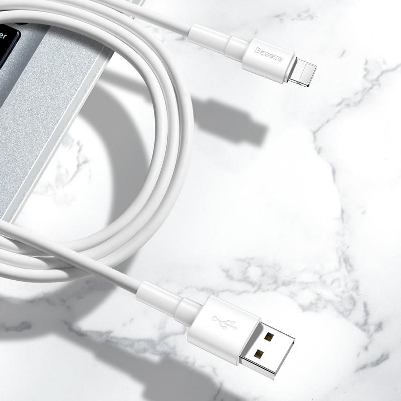 Кабель Baseus Mini White Lightning 2.4A (1m) - Купить в Украине за 129 грн - изображение №7