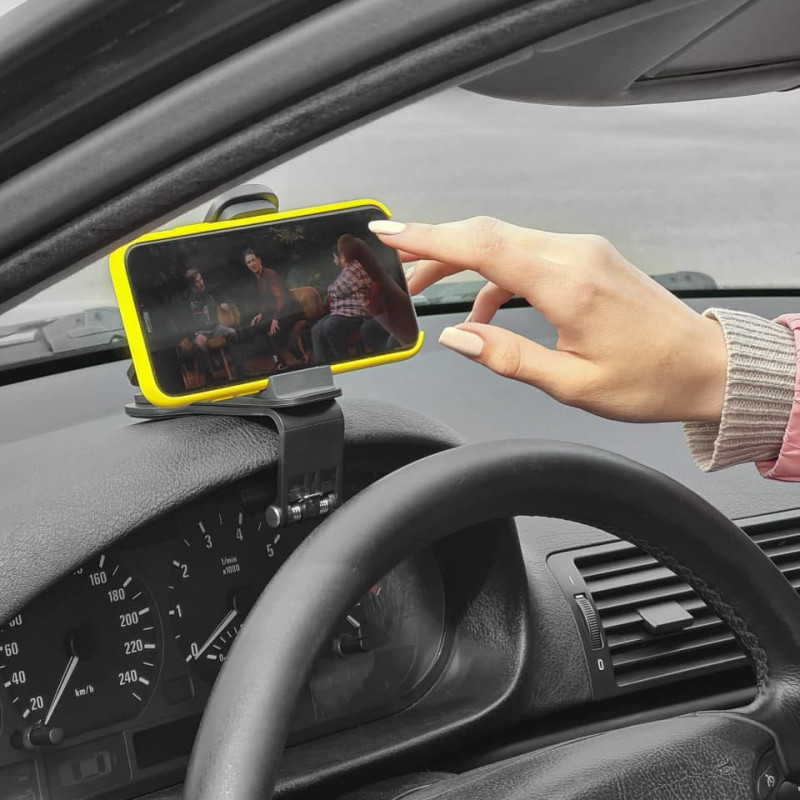 Автодержатель Baseus Big Mouth Pro Car Mount - Купить в Украине за 299 грн - изображение №5