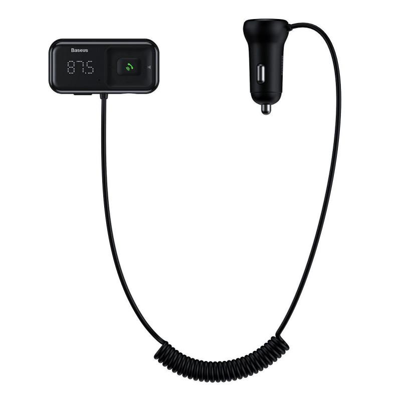 Автомобильное ЗУ Baseus S-16 Bluetooth FM Launcher 2USB - Купить в Украине за 529 грн