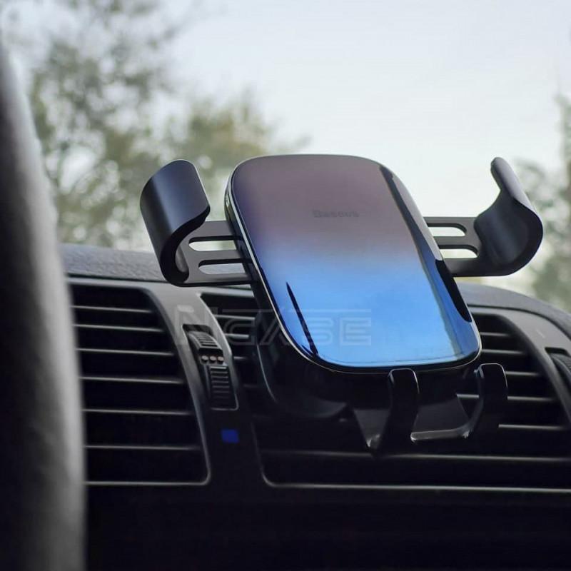Автодержатель Baseus Glaze Gravity Car Mount - Купить в Украине за 449 грн - изображение №4