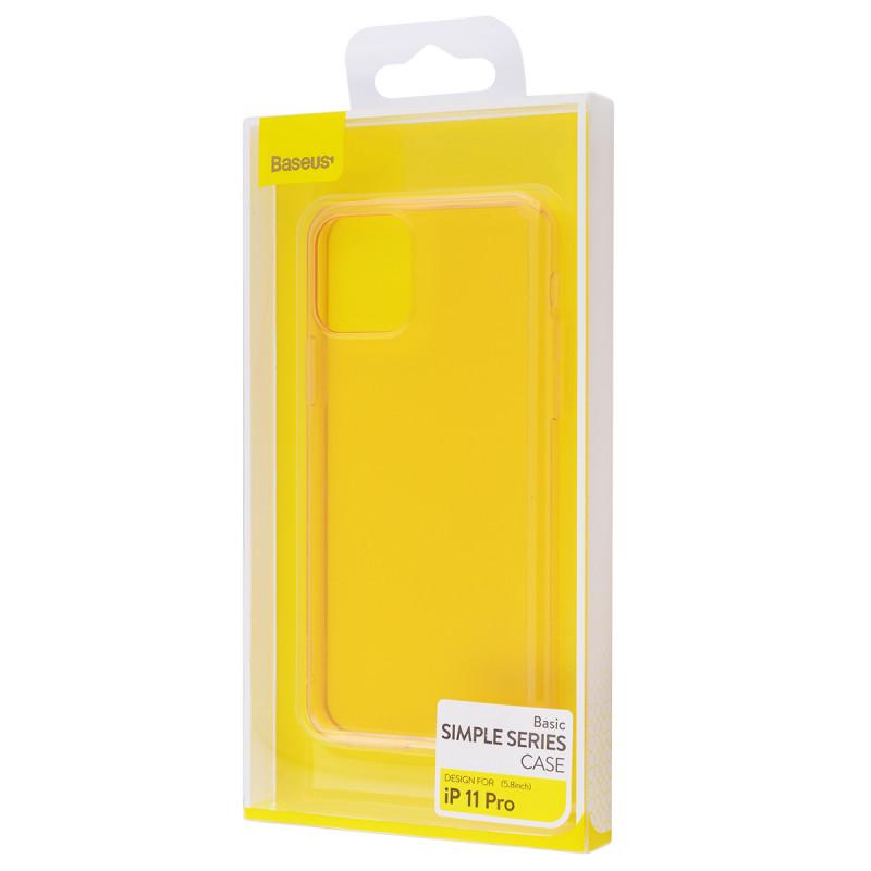 Baseus Simple (TPU) iPhone 11 Pro - Купить в Украине за 199 грн - изображение №2
