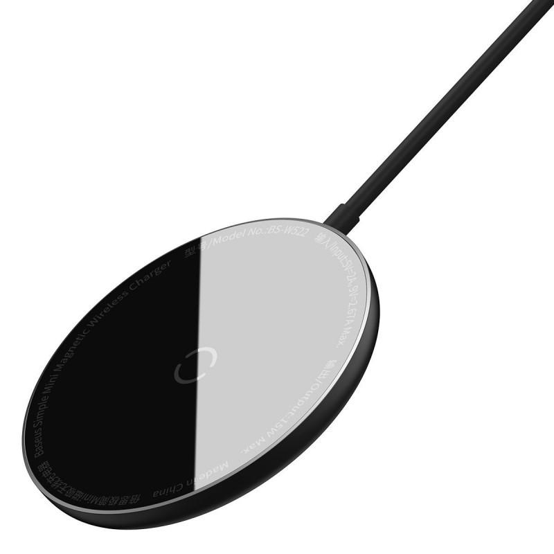 Беспроводное ЗУ Baseus Simple Mini Magnetic 15W - Купить в Украине за 879 грн - изображение №9