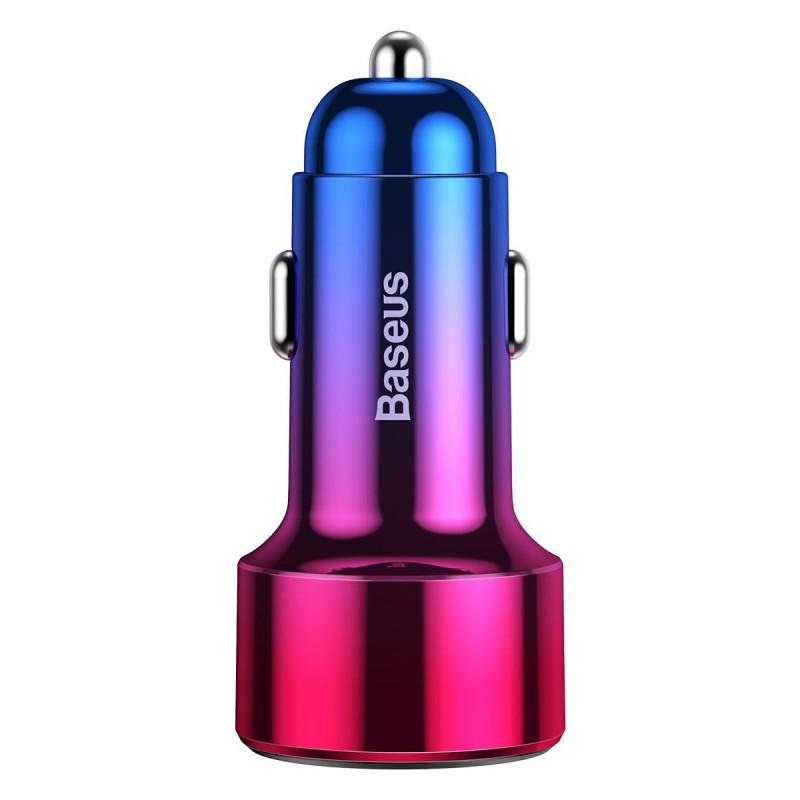 Автомобильное ЗУ Baseus Magic Series Digital Display PD 3.0 QC 4.0+ 45W USB + Type-C - Купить в Украине за 419 грн