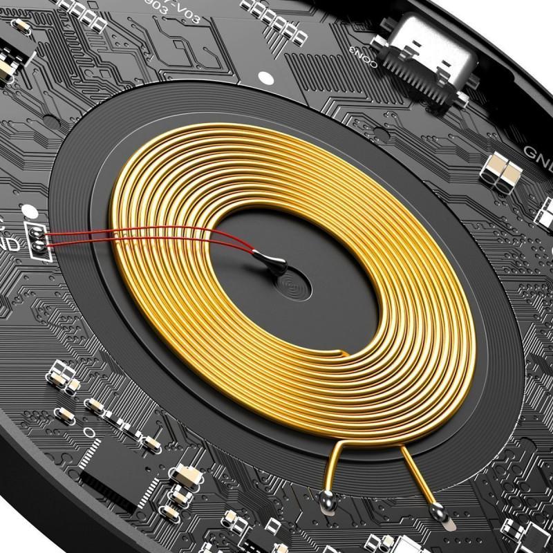 Беспроводное ЗУ Baseus Simple Magnetic 15W - Купить в Украине за 849 грн - изображение №8