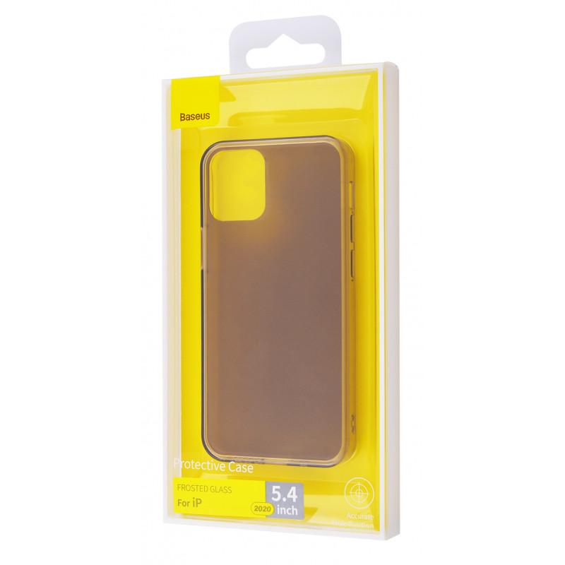 Baseus Frosted Glass Protective Case iPhone 12 mini - Купить в Украине за 629 грн - изображение №2