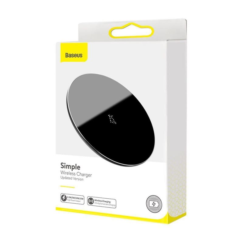 Беспроводное ЗУ Baseus Simple 15W (Type-C version) - Купить в Украине за 619 грн - изображение №2