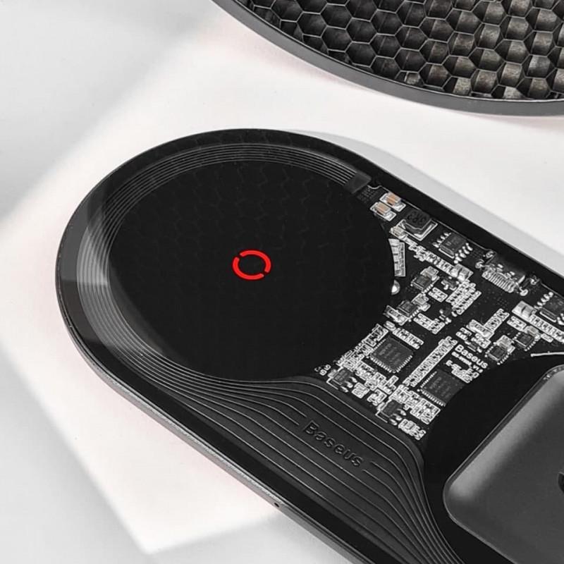 Беспроводное ЗУ Baseus Simple 2in1 Turbo Edition 24W (With QC Wall Charger) - Купить в Украине за 1079 грн - изображение №7