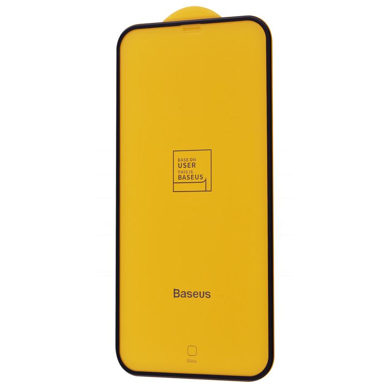Защитное стекло Baseus 0.3mm full-screen curved tempered glass iPhone 12 Pro Max (2pcs/pack) - Купить в Украине за 0 грн
