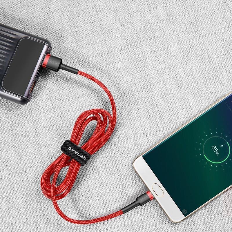 Кабель Baseus Cafule Micro USB 2.0A (3m) - Купить в Украине за 209 грн - изображение №3
