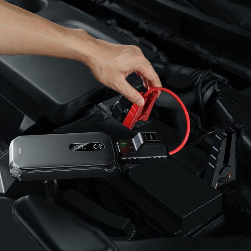 Портативная Батарея Baseus Super Energy Pro Car Jump Starter 12000 mAh - Купить в Украине за 2279 грн - изображение №3