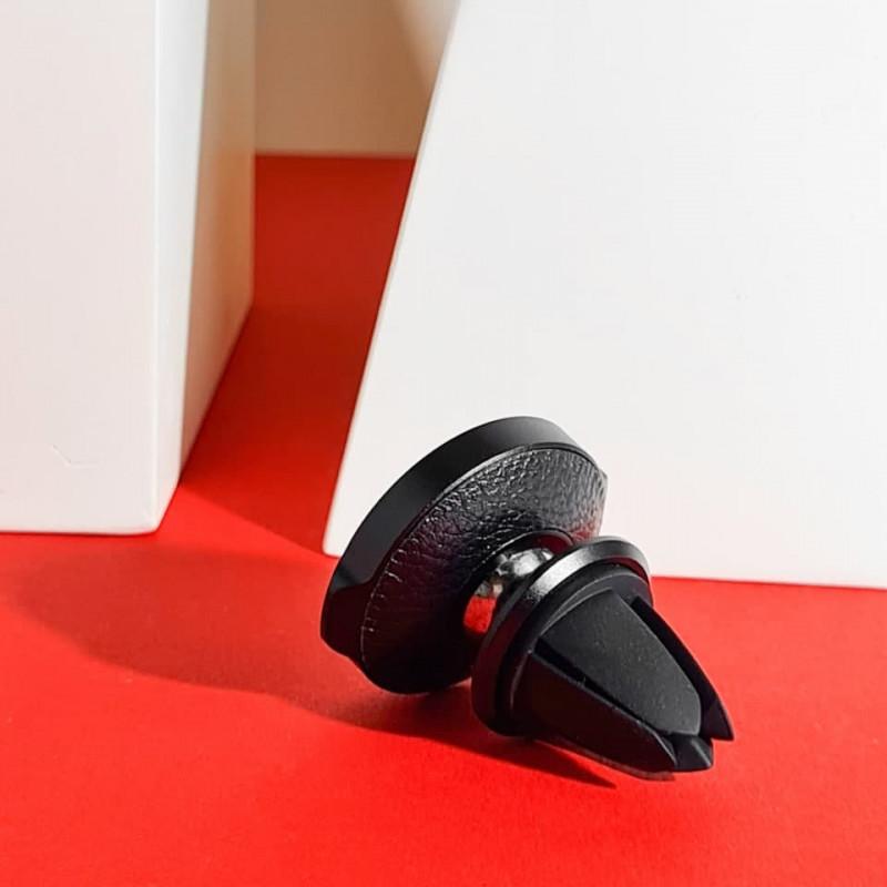 Автодержатель Baseus Small Ears Series Magnetic Bracket Leather Air Outlet Type - Купить в Украине за 319 грн - изображение №5