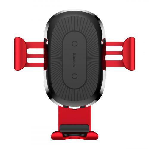 Купить Автодержатель с Беспроводной Зарядкой Baseus Gravity Car Mount (Air Outlet Version) 1.67A 10W — Baseus.com.ua