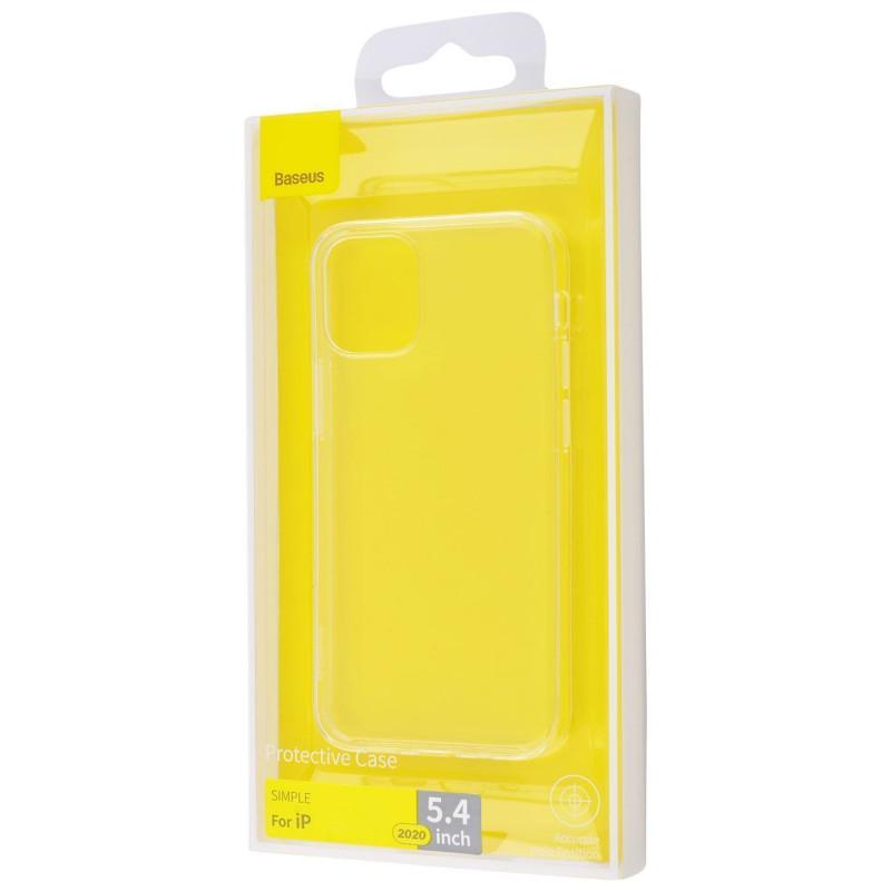 Baseus Simple (TPU) iPhone 12 mini - Купить в Украине за 199 грн - изображение №2