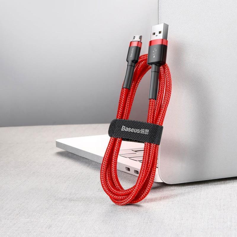 Кабель Baseus Cafule Micro USB 2.4A (1m) - Купить в Украине за 159 грн - изображение №6