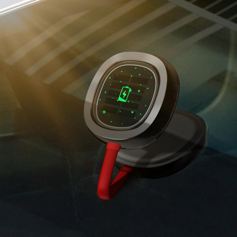 LED Лампа Baseus In-car Solar Reading - Купить в Украине за 809 грн - изображение №4