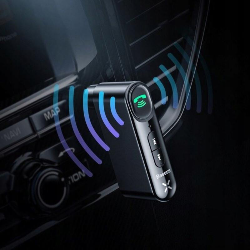 Адаптер AUX Baseus Qiyin Car Bluetooth Receiver - Купить в Украине за 379 грн - изображение №3