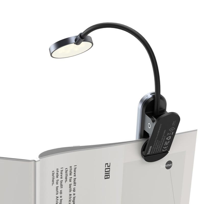 LED Лампа Baseus Comfort Reading Mini Clip - Купить в Украине за 409 грн - изображение №7