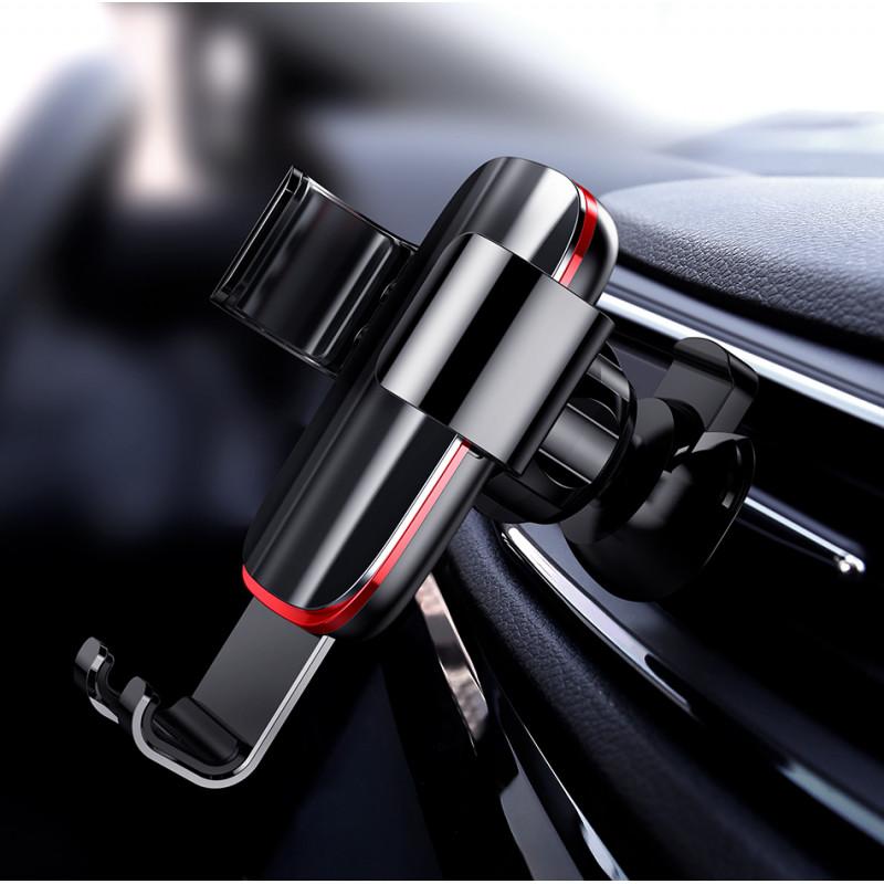 Автодержатель Baseus Metal Age Gravity Car Mount Air Outlet Version - Купить в Украине за 339 грн - изображение №3