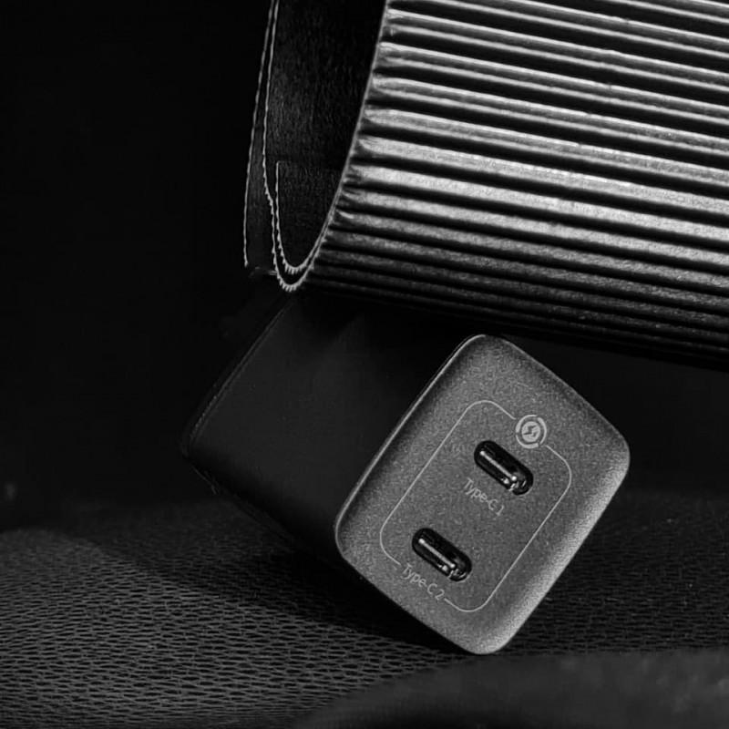 СЗУ Baseus GaN2 Lite Quick Charger 65W (2 Type-C) - Купить в Украине за 969 грн - изображение №4