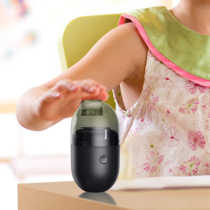 Портативный Пылесос Baseus C2 Desktop Vacuum Cleaner - Купить в Украине за 499 грн - изображение №4