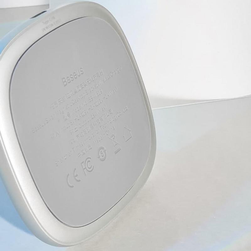Беспроводное ЗУ Baseus Swan Magnetic 15W - Купить в Украине за 1149 грн - изображение №6