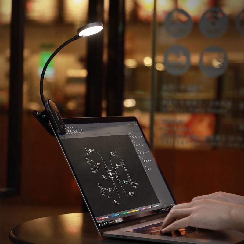 LED Лампа Baseus Comfort Reading Mini Clip - Купить в Украине за 409 грн - изображение №3